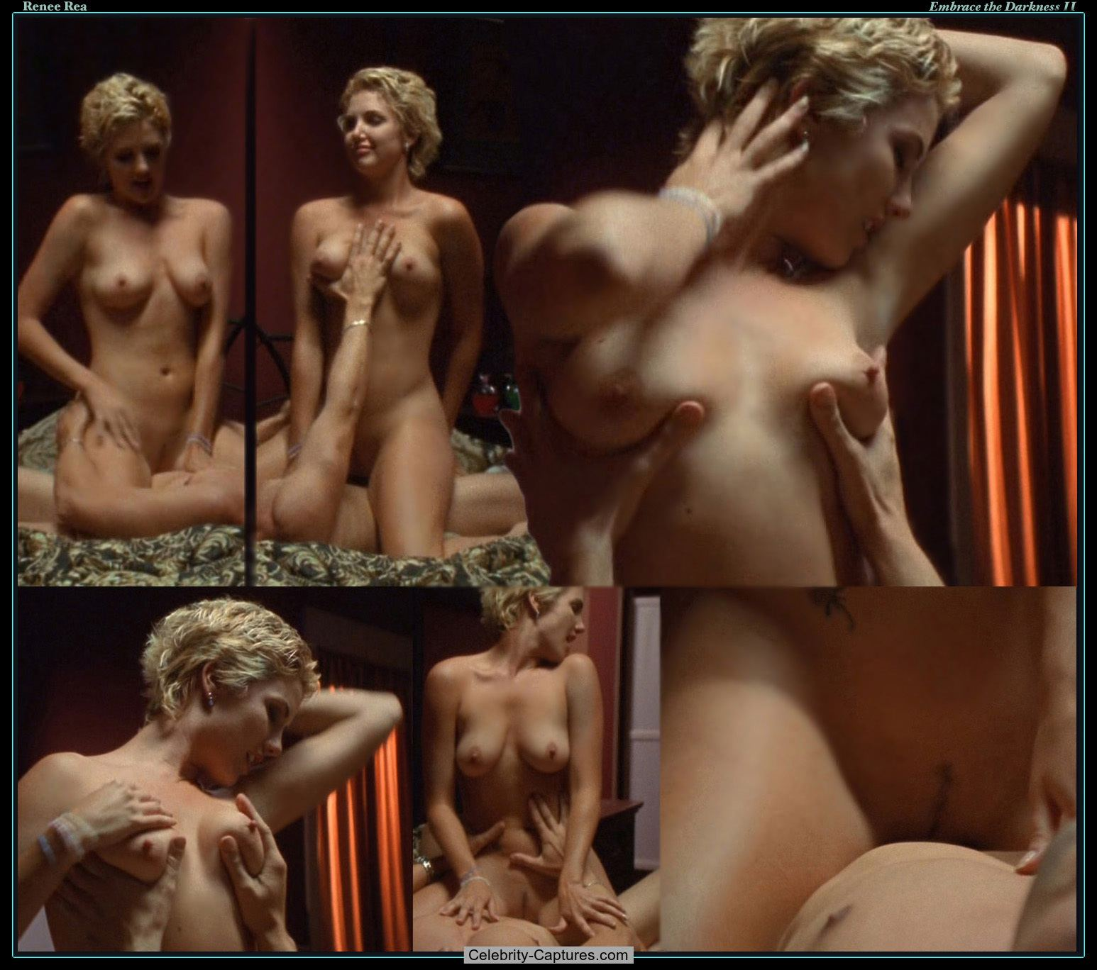 Renee rea gets naked for the tub porn photo