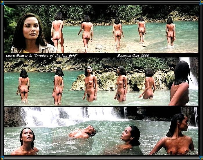 Actress - Laura Gemser: Movie - Invaders Of The Lost Gold