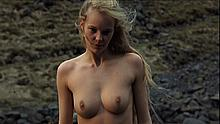 Icelandic actress Ingibjorg Stefansdottir naked at The Viking Sagas