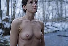 Polish actress Monika Pikula nude tits and pussy at Erotica 2022