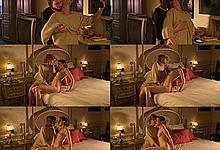 Isabelle Prim nude in lesbian collage from Que le diable nous emporte