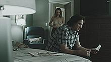 Judy Greer topless in Kidding