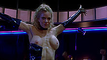 Kristin Bauer van Straten topless in Dancing at the Blue Iguana