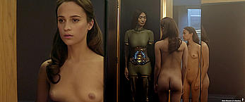 Actress - Alicia Vikander: Movie - Ex Machina