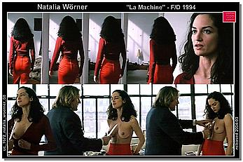 Actress - Natalia Woerner: Movie - La machina